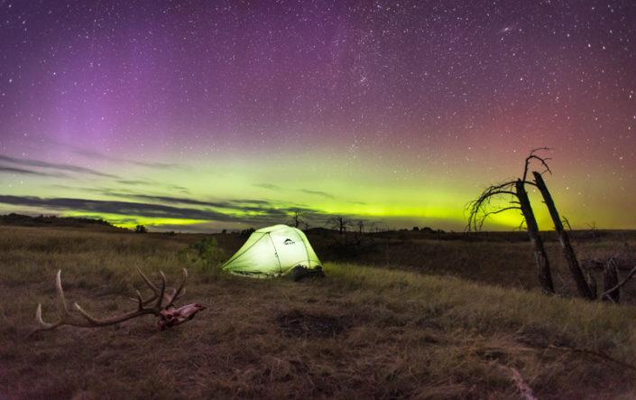 archery, elk, film, hunting, montana, montana wild, night, northern lights, public lands